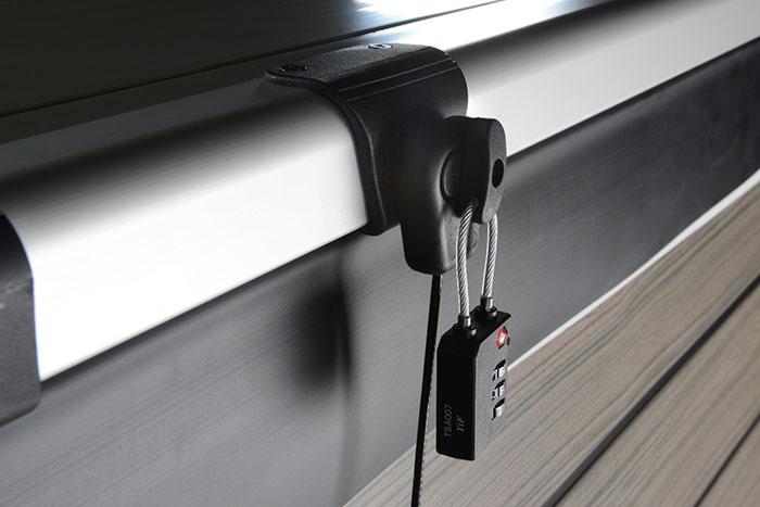 Stainless Steel Lockdown Straps & Combination Padlock