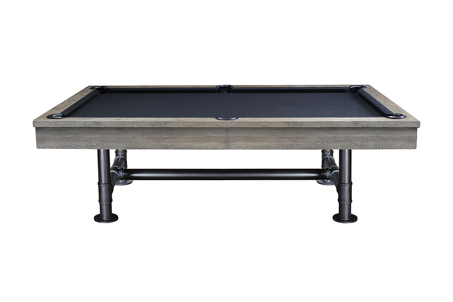 Bedford 8ft Pool Table, Weathered Oak
