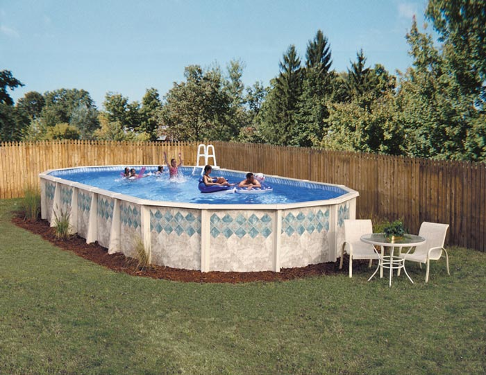 Copper Canyon Oval Swimming Pool