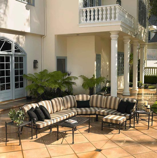 Grand Terrace Outdoor Sofa