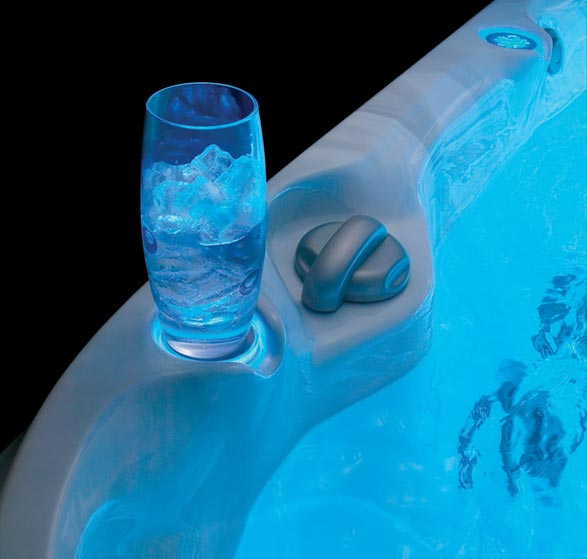 Backlit Cupholder - Blue