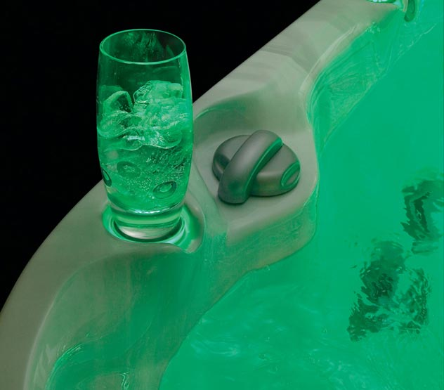 Backlit Cupholder - Green