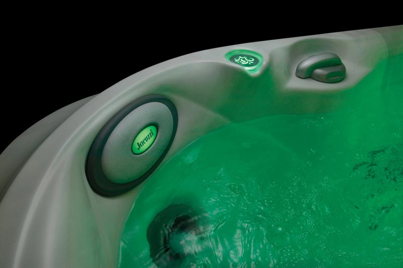 Backlit Headrest - Green