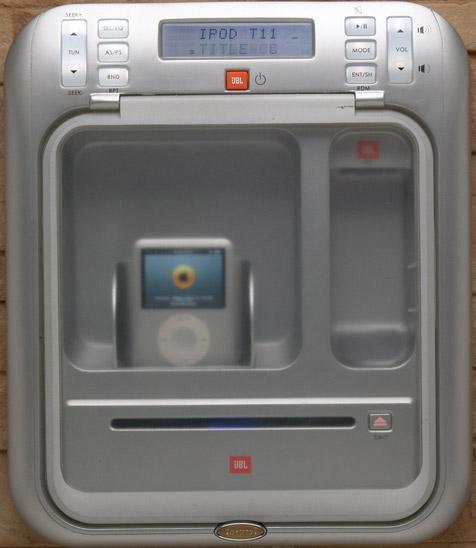 J-1000™ Audio System with iPod® Docking Station