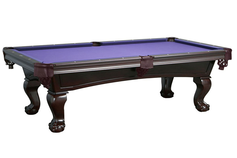 Lincoln 8ft Pool Table, Mahogany