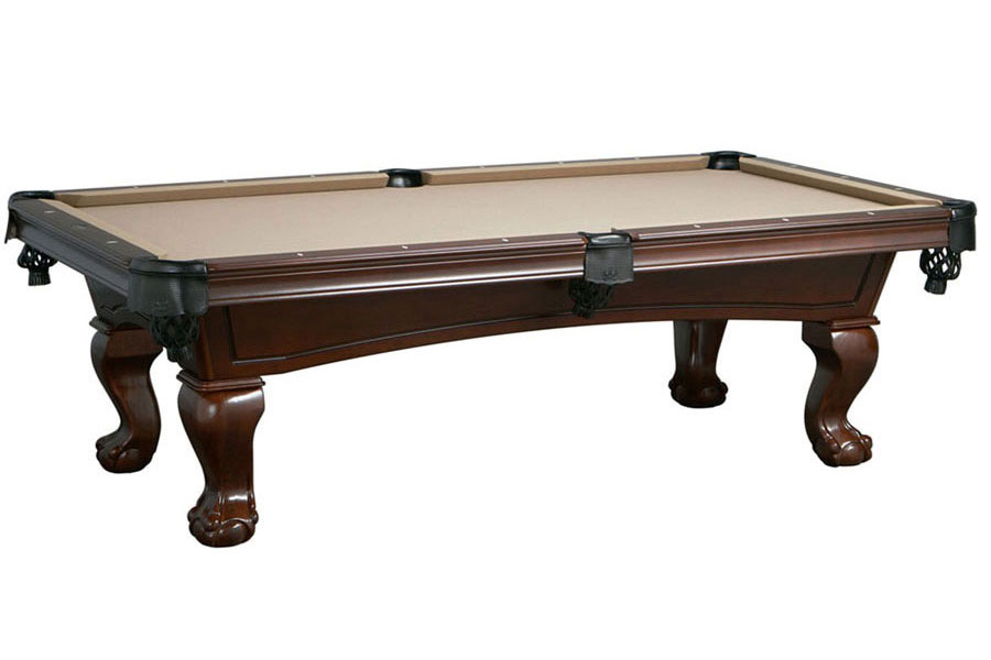 Lincoln 8ft Pool Table, Antique Walnut