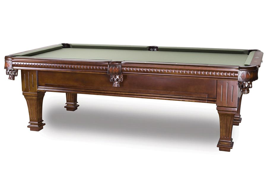 Ramsey 8ft Pool Table, Antique Walnut