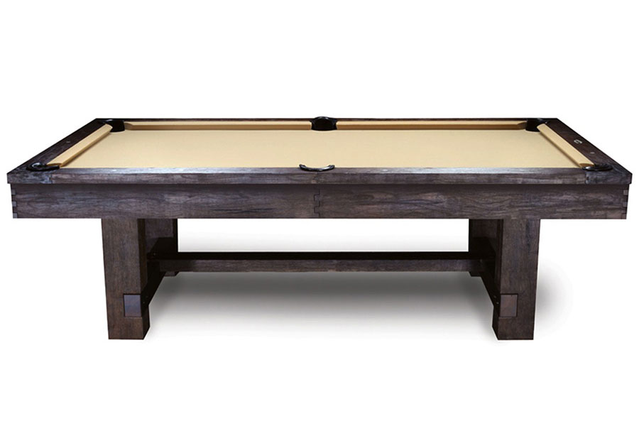 Reno 8ft Pool Table, Antique Walnut