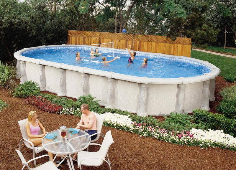 Tuscany Oval Swimming Pool