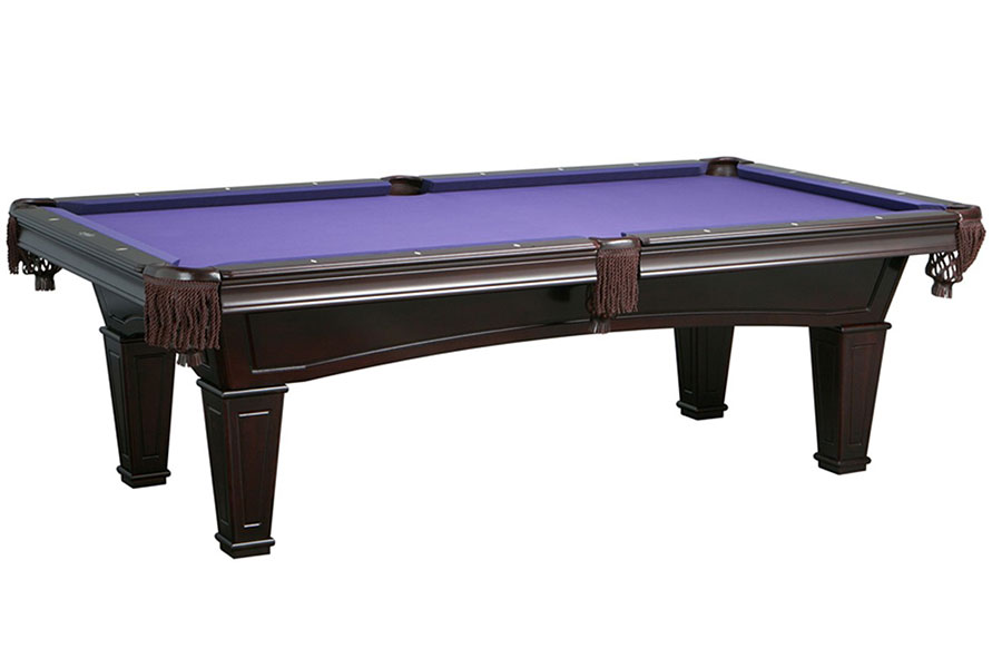 Washington 8ft Pool Table, Mahogany